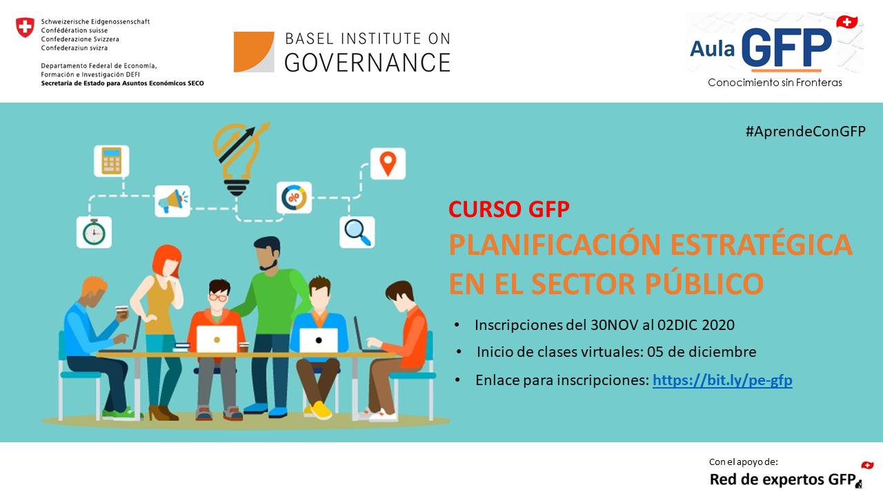 Course Image PLANIFICACIÓN ESTRATÉGICA EN EL SECTOR PÚBLICO