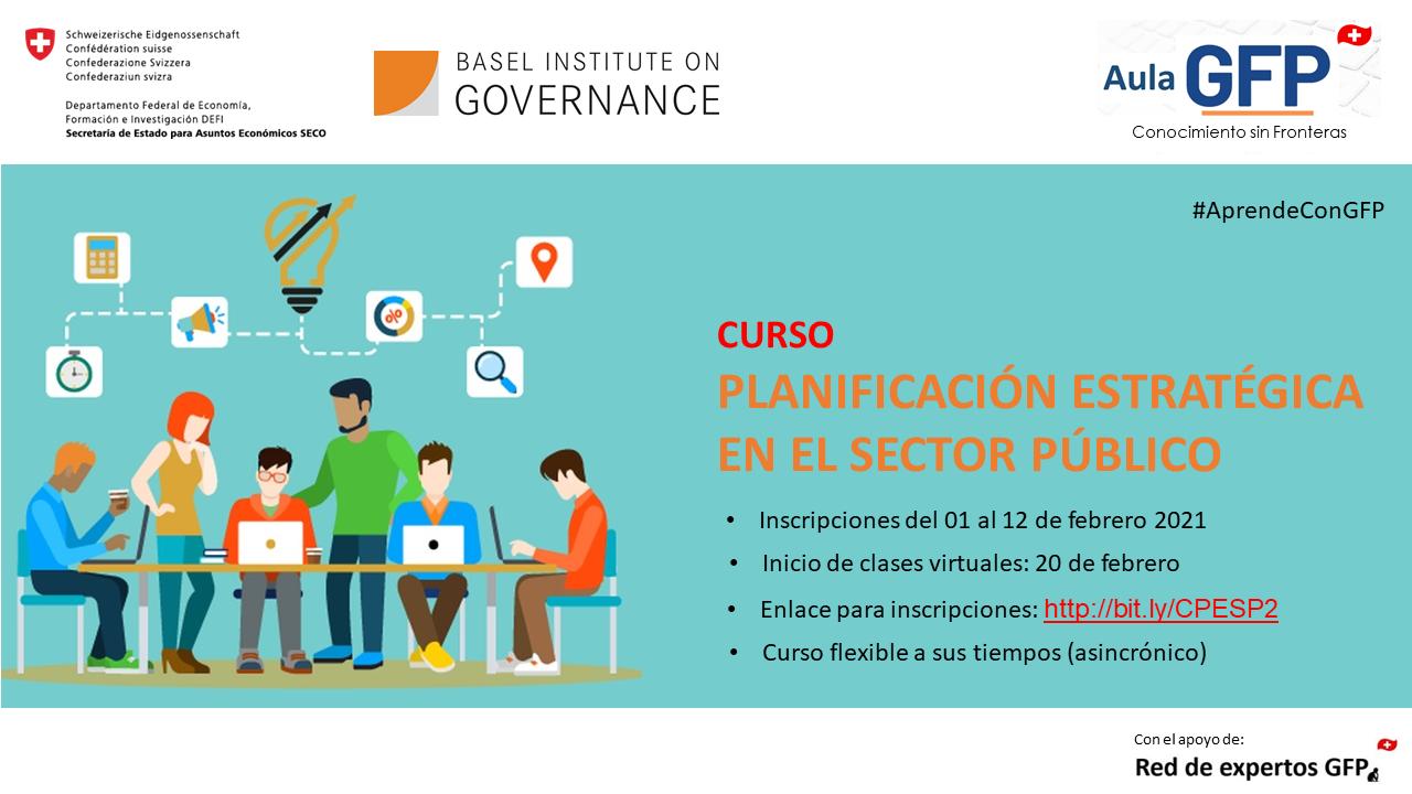 Course Image Planificación Estratégica del Sector Público