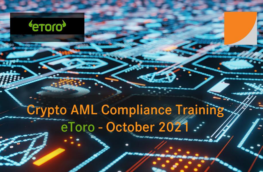 Course Image Crypto AML Compliance - eToro - October 2021